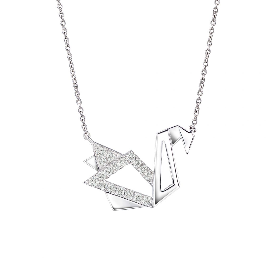 AURY Swan Necklace
