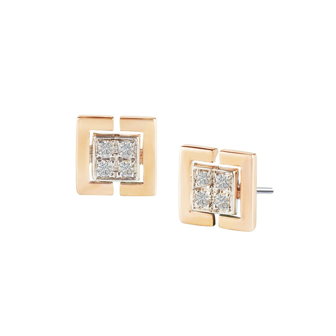 Soleluna's ASTRA Diamond Earrings