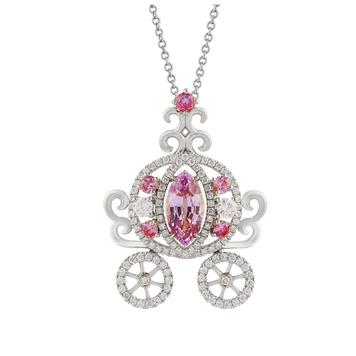 The Dream Carriage Pendant Necklace