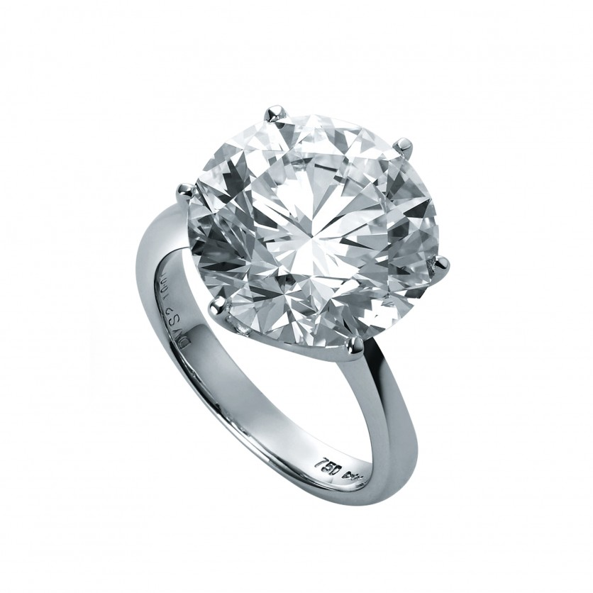 Round Brilliant Diamond Ring