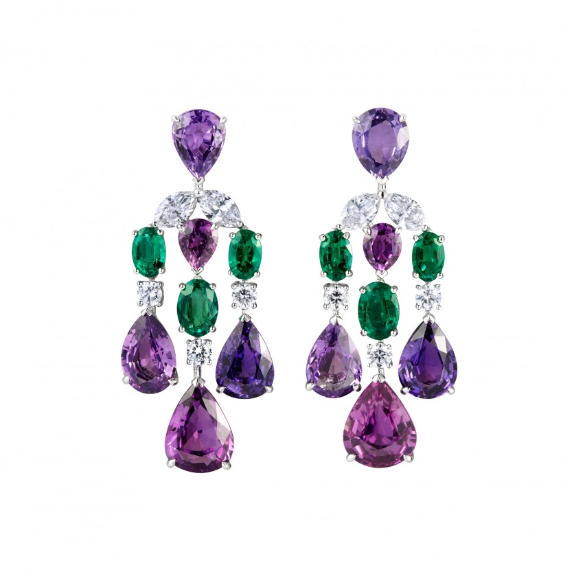Purple Sapphires & Emeralds