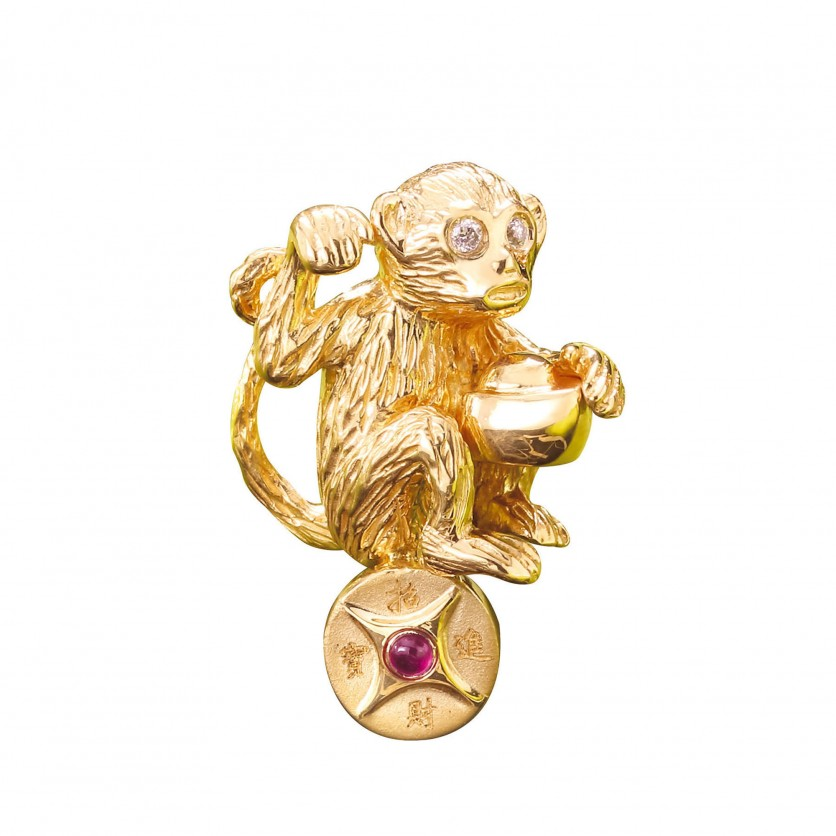 Fortune Gold Monkey