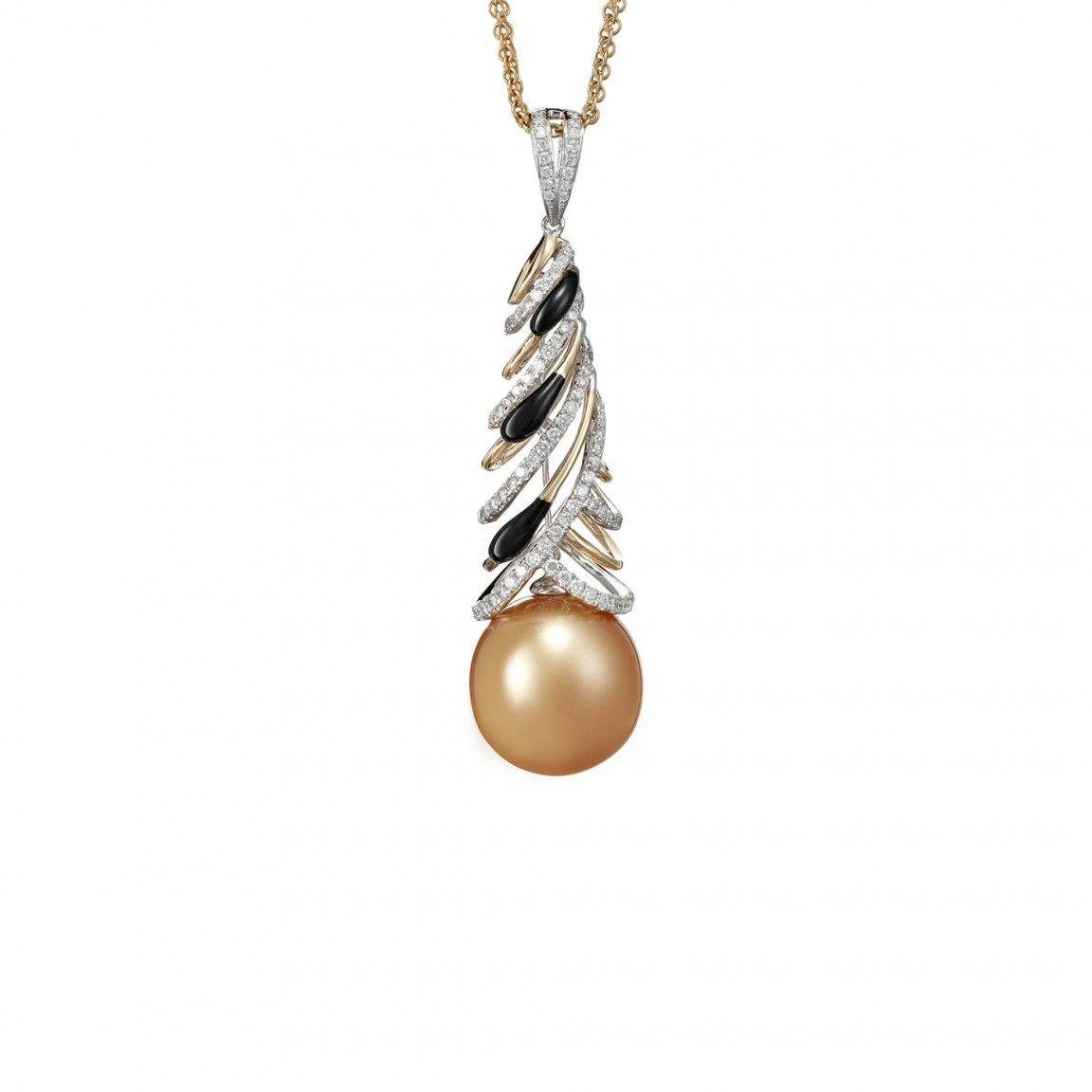 Mesmerizing Pearl Pendant Necklace