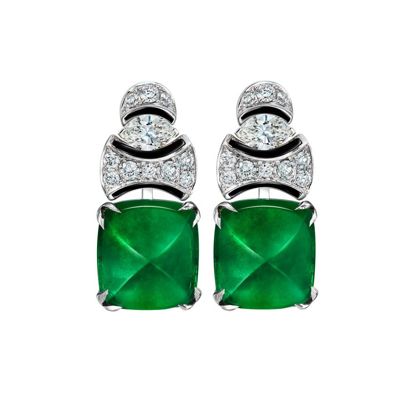 Emerald Andes Earrings