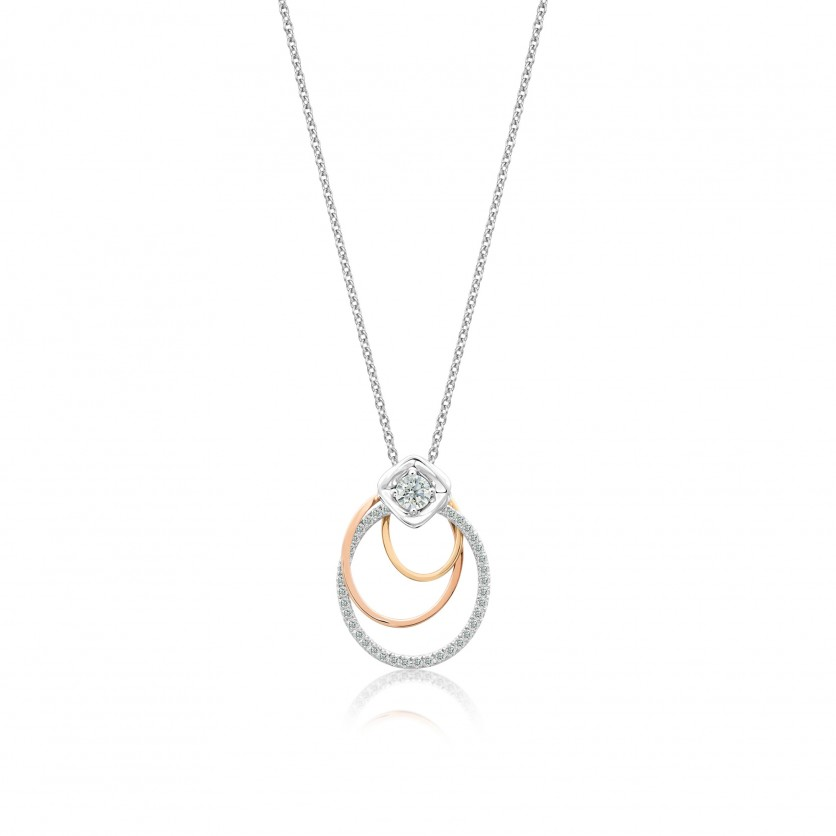 Revel Diamond Pendant Necklace