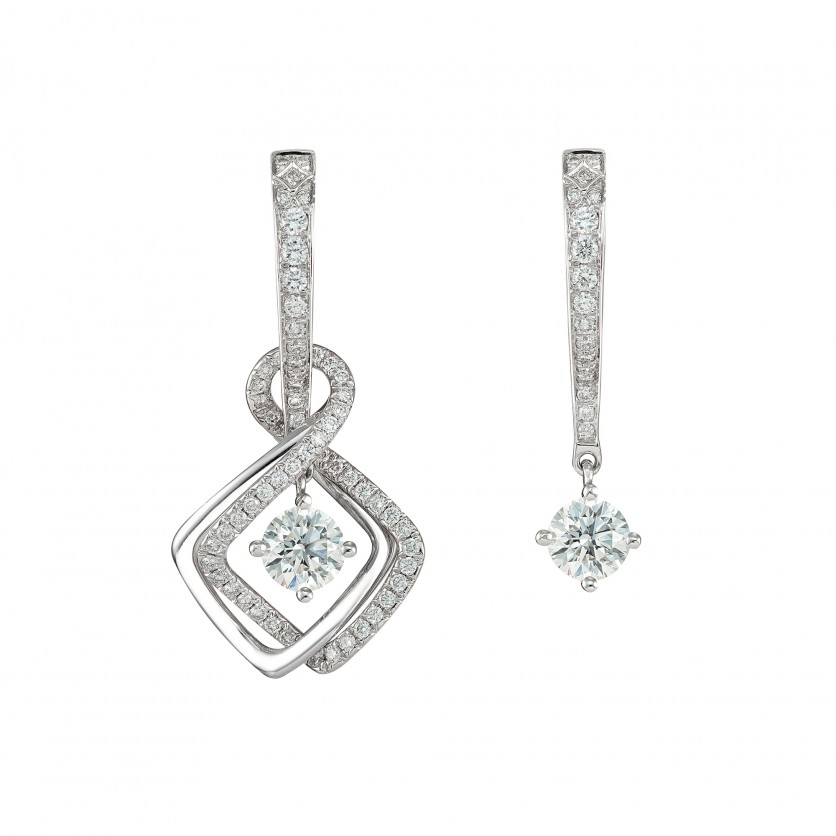 Revel Diamond Earrings