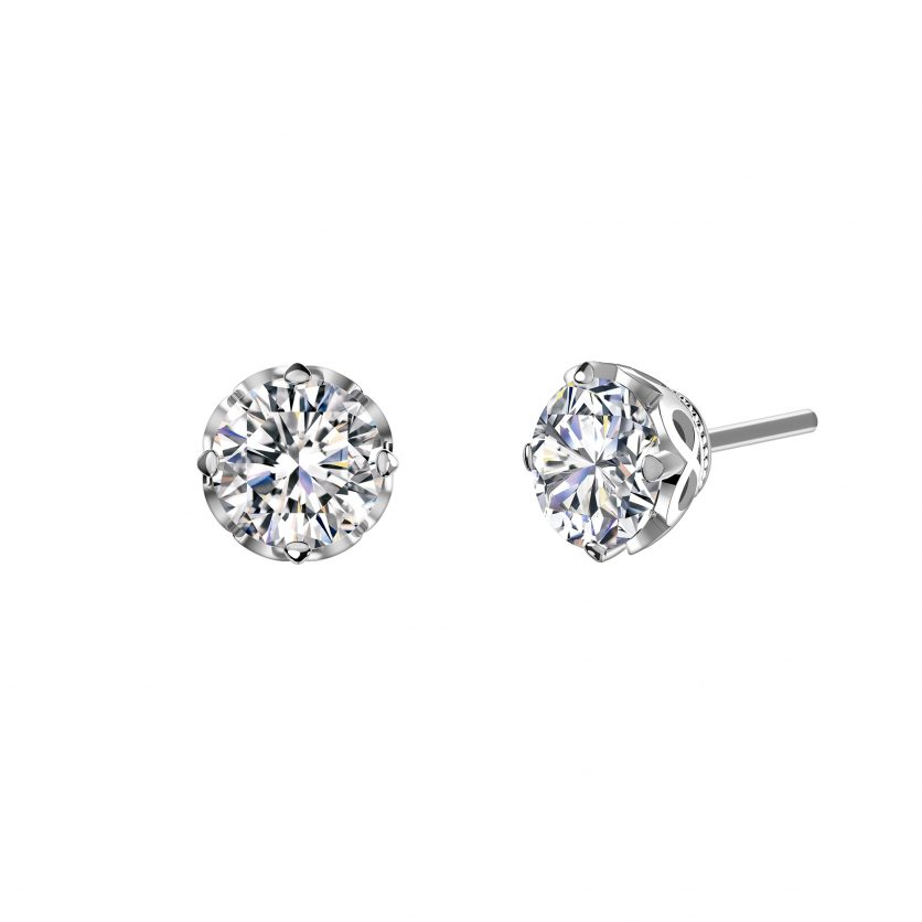 Forevermark's Endlea Earrings