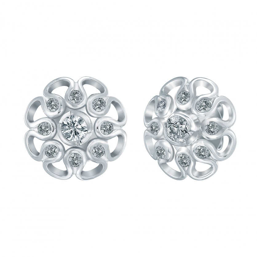 Lazare Valentine Diamond Earrings