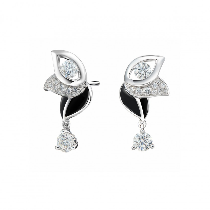 Iris Diamond Earrings