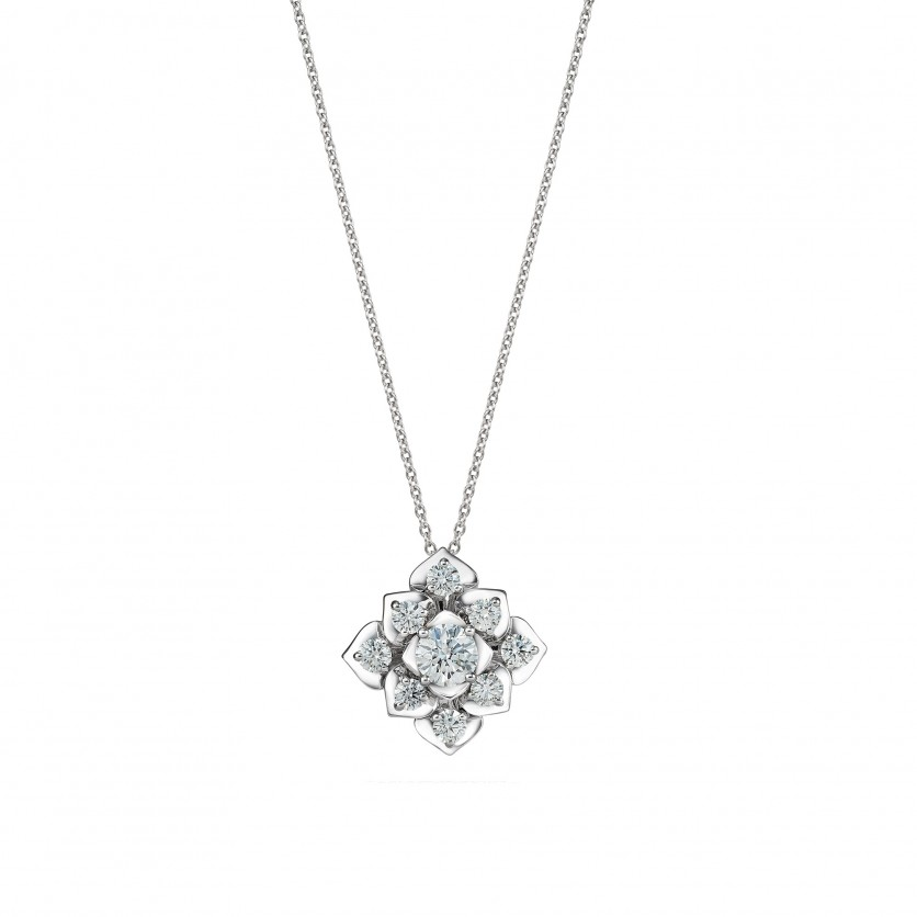 Love Blossom Diamond Necklace