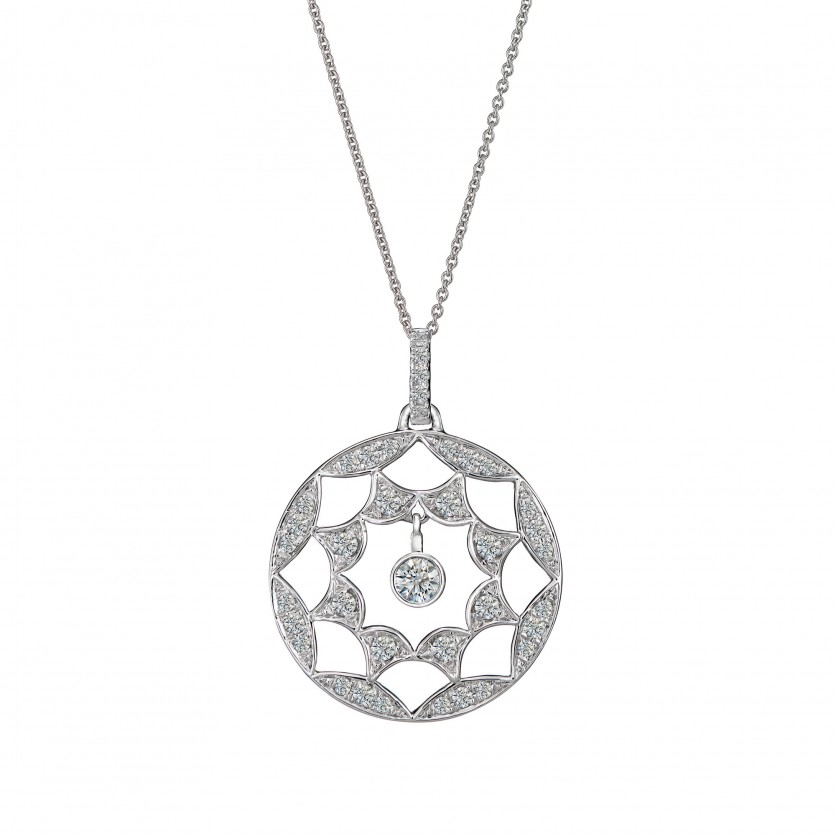 Starbright Diamond Pendant Necklace