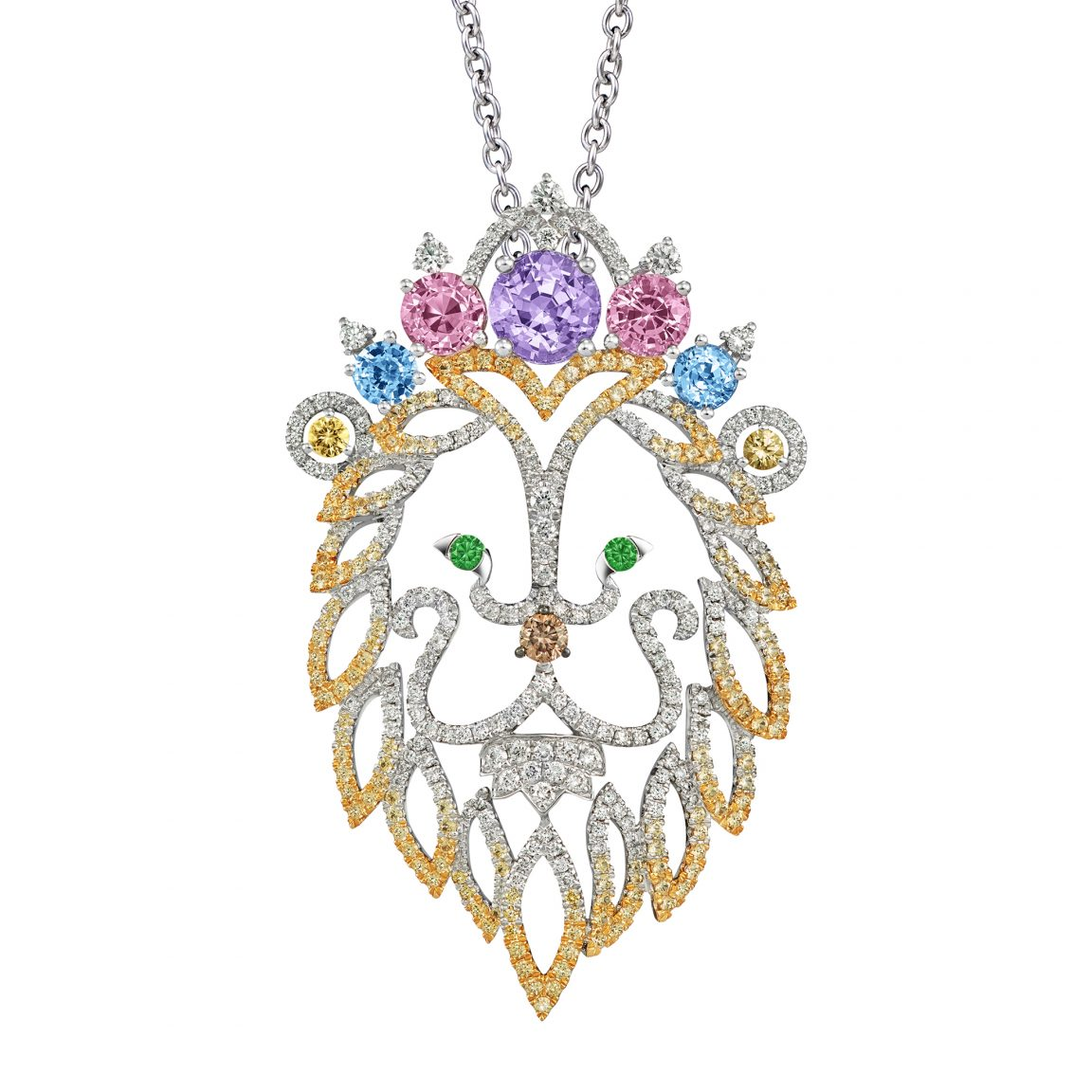 The Reigning Leo Pendant Necklace