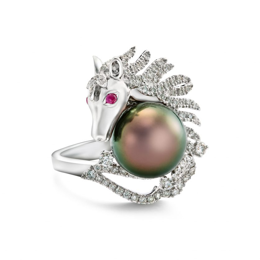 The Pegasus Charm Ring