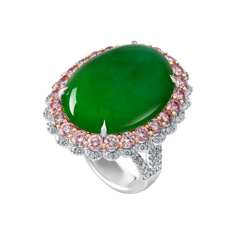 Majestic Jade Ring