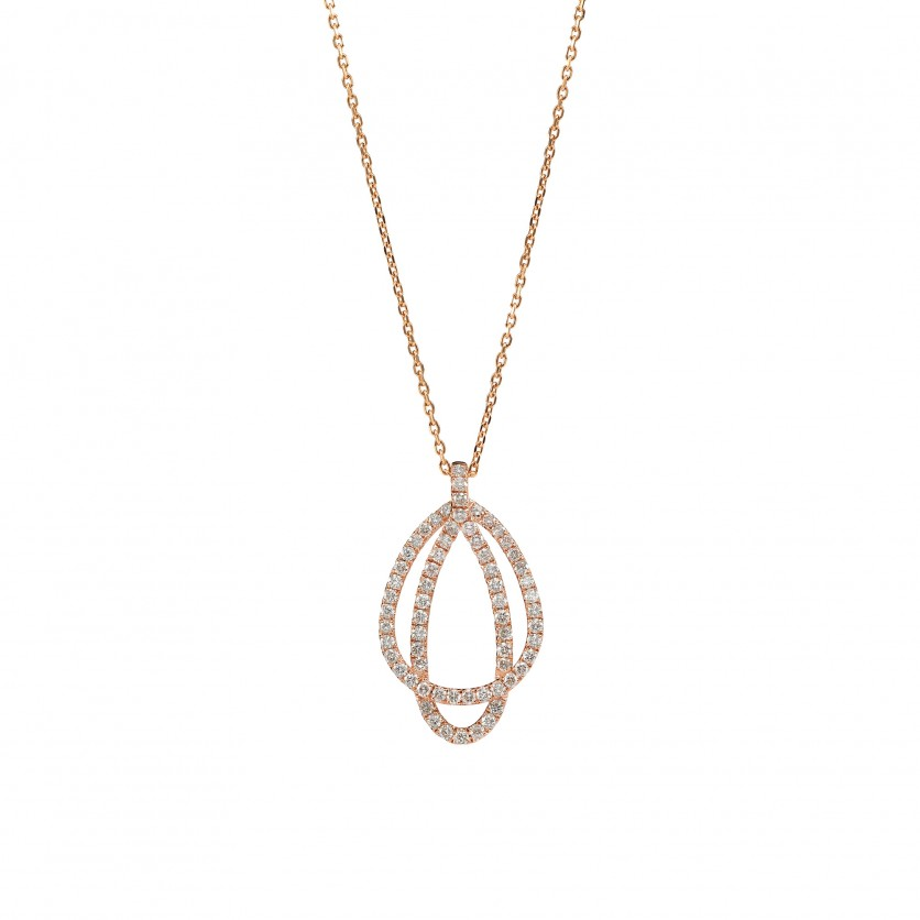 Diamond Dual-Loop Necklace
