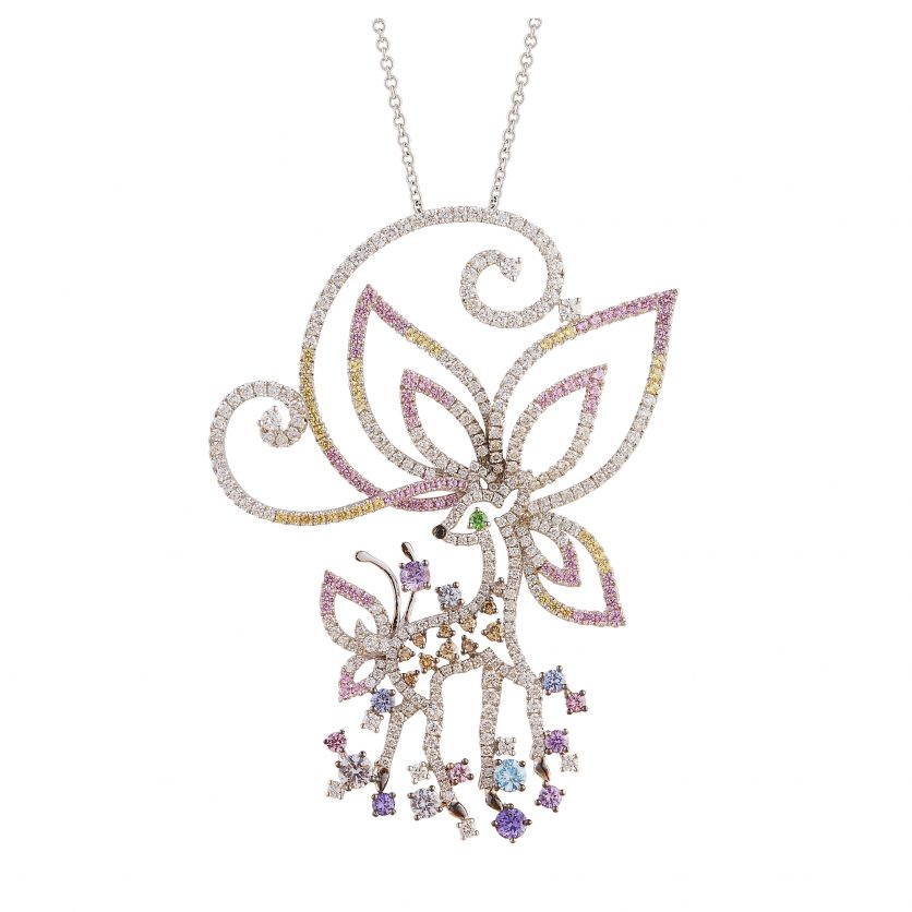 The Endearing Fawn Necklace