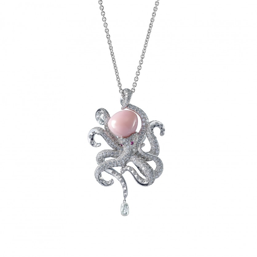 Octopi necklace