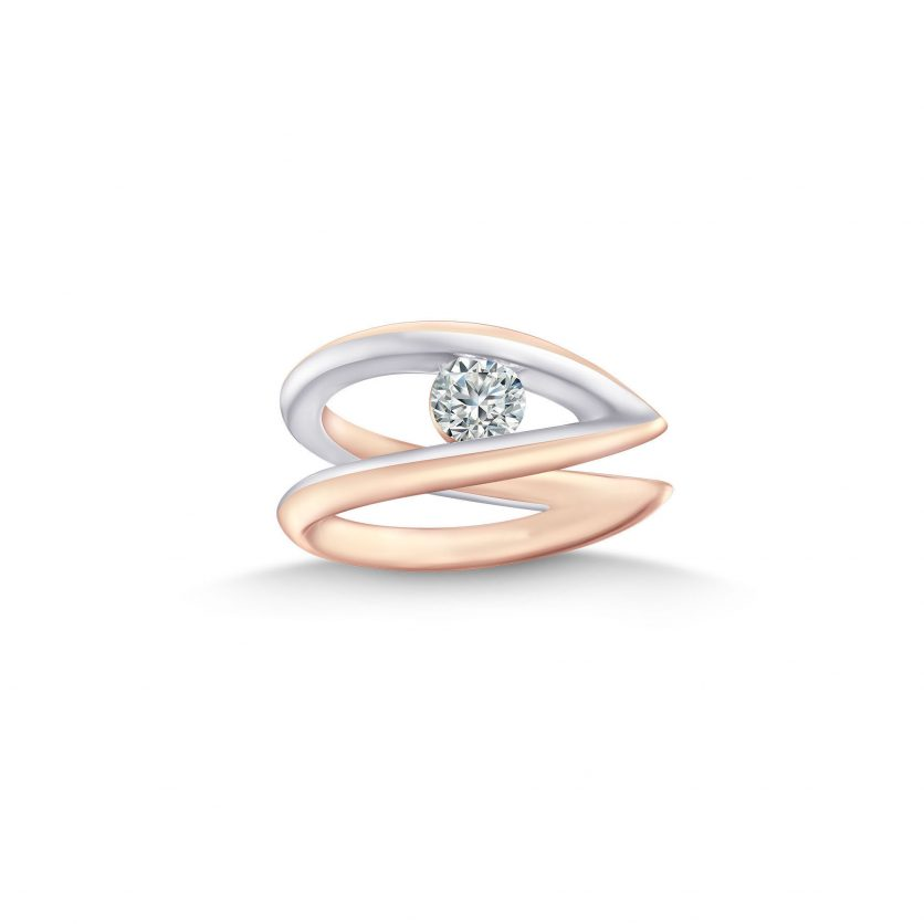 My First LAZARE® V Collection Diamond Ring by DeGem