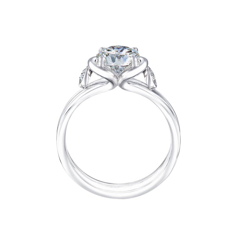 DeGem Tryst Diamond Solitaire Ring