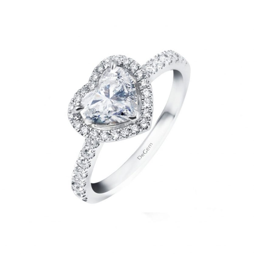 Forevermark Lovely Romance Heart Shape Diamond Ring