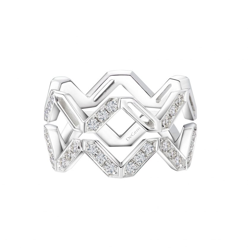AURY Stackable Geometric Rings