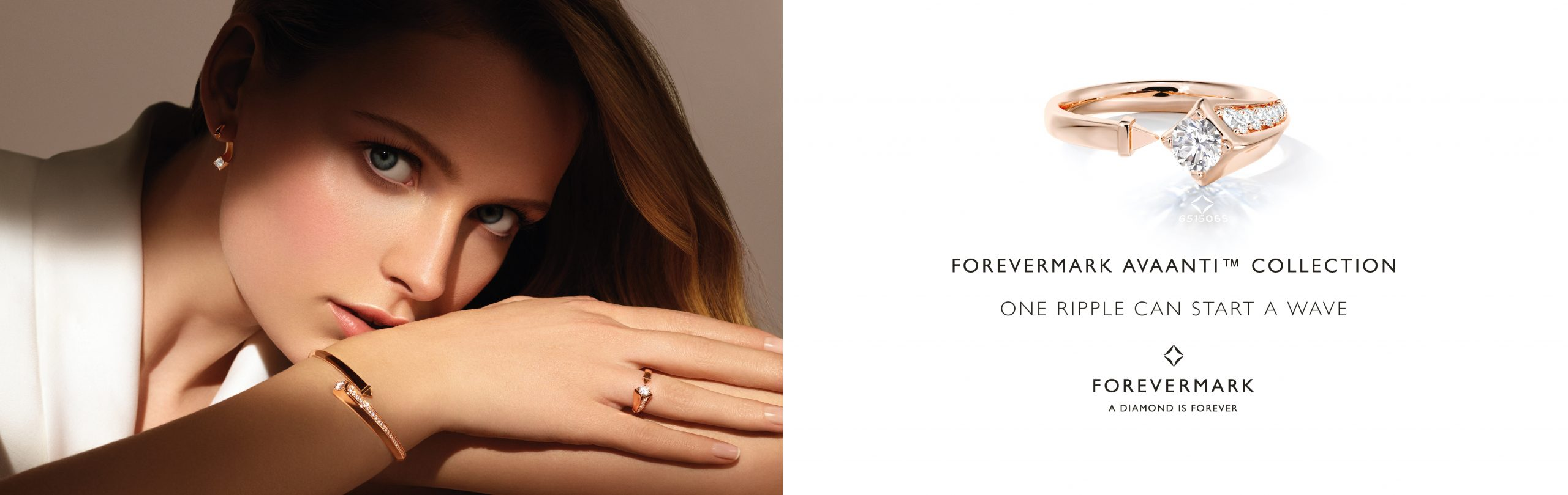 Forevermark Elegant Oval Diamond Ring