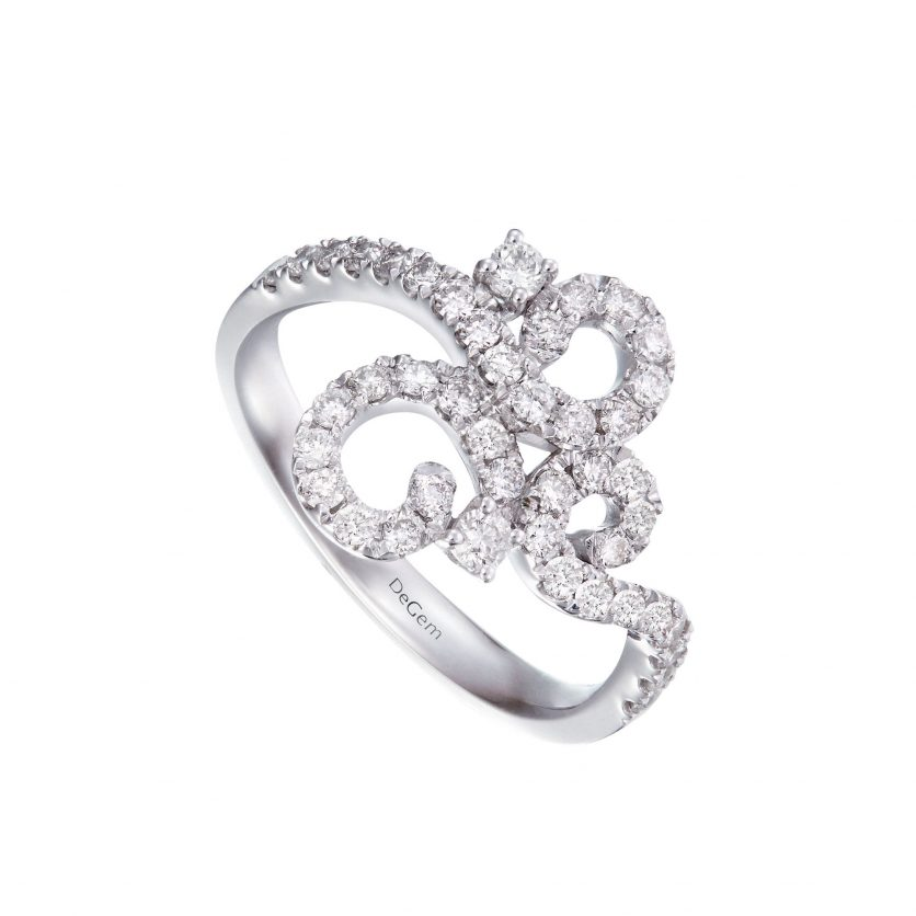 Soleluna AGLAIA Opulent Lace Diamond Ring