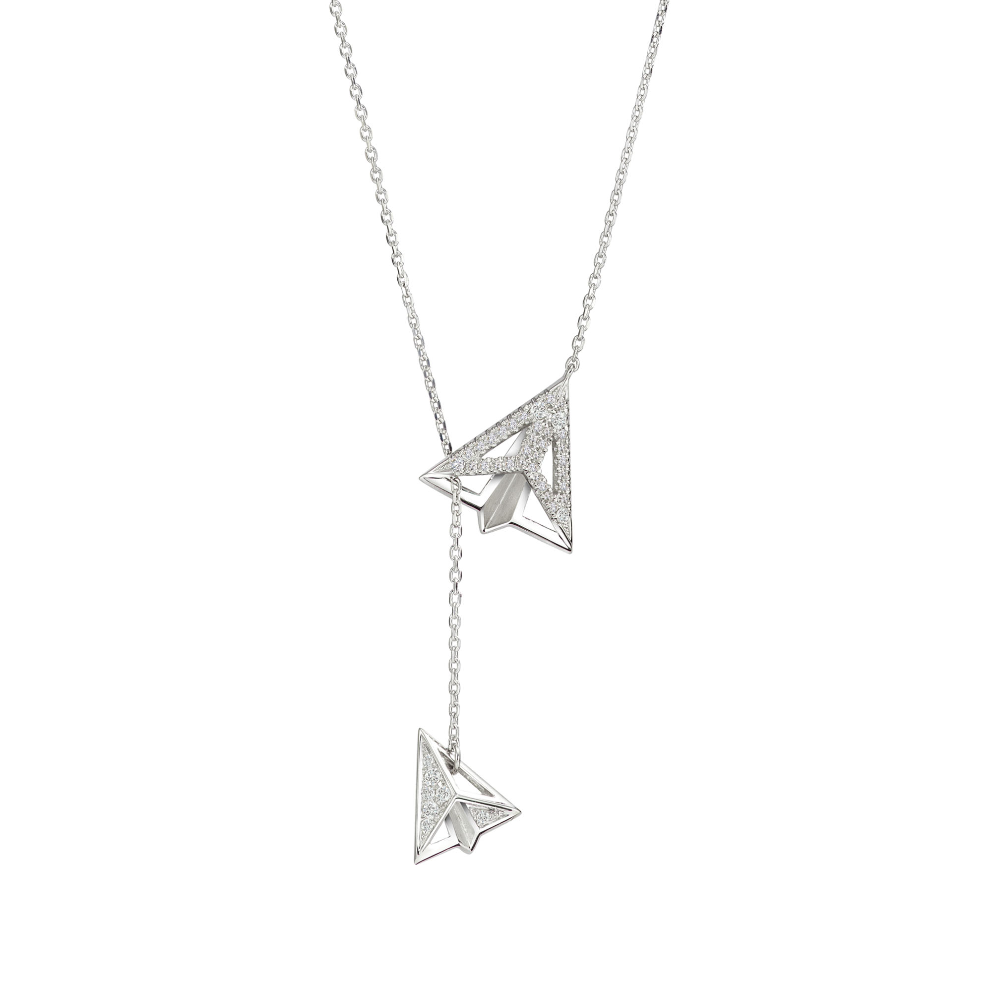 Soleluna AURY Paper Planes Two-Way Necklace