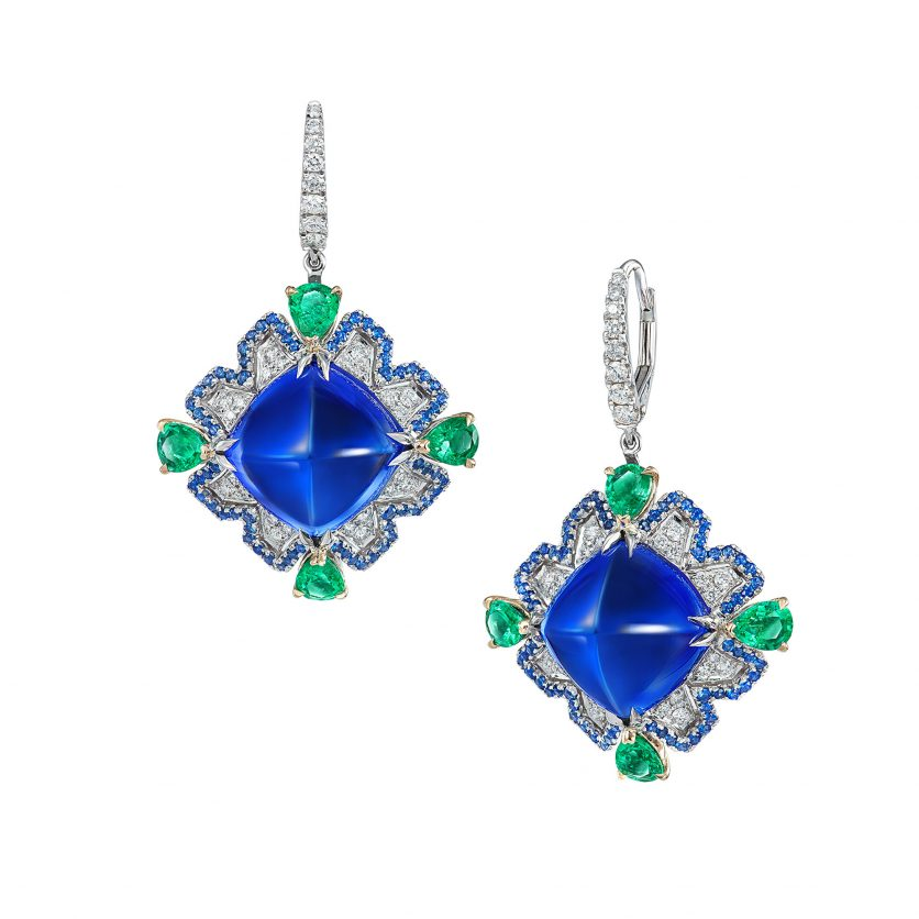 Azure Opulence Earrings