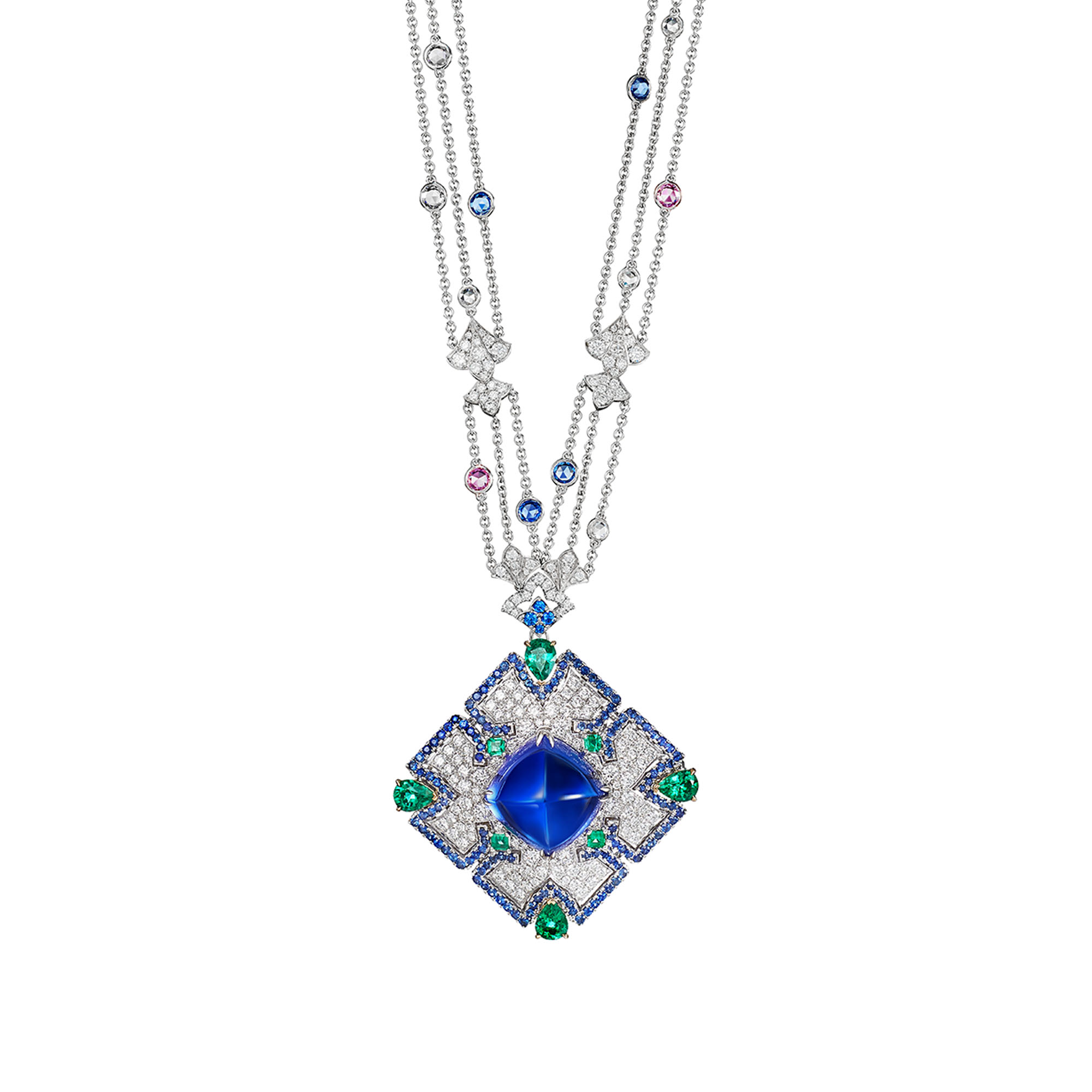 Azure Opulence Necklace