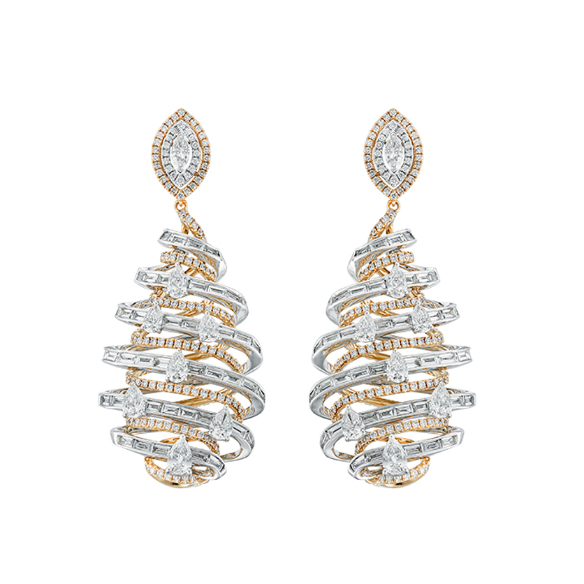 DeGem DNA Diamond Earrings