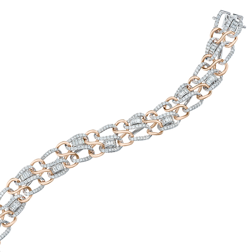 DeGem DNA Diamond Bracelet