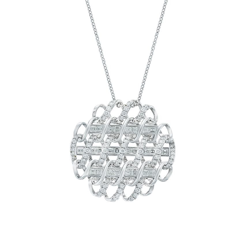DeGem DNA Diamond Necklace