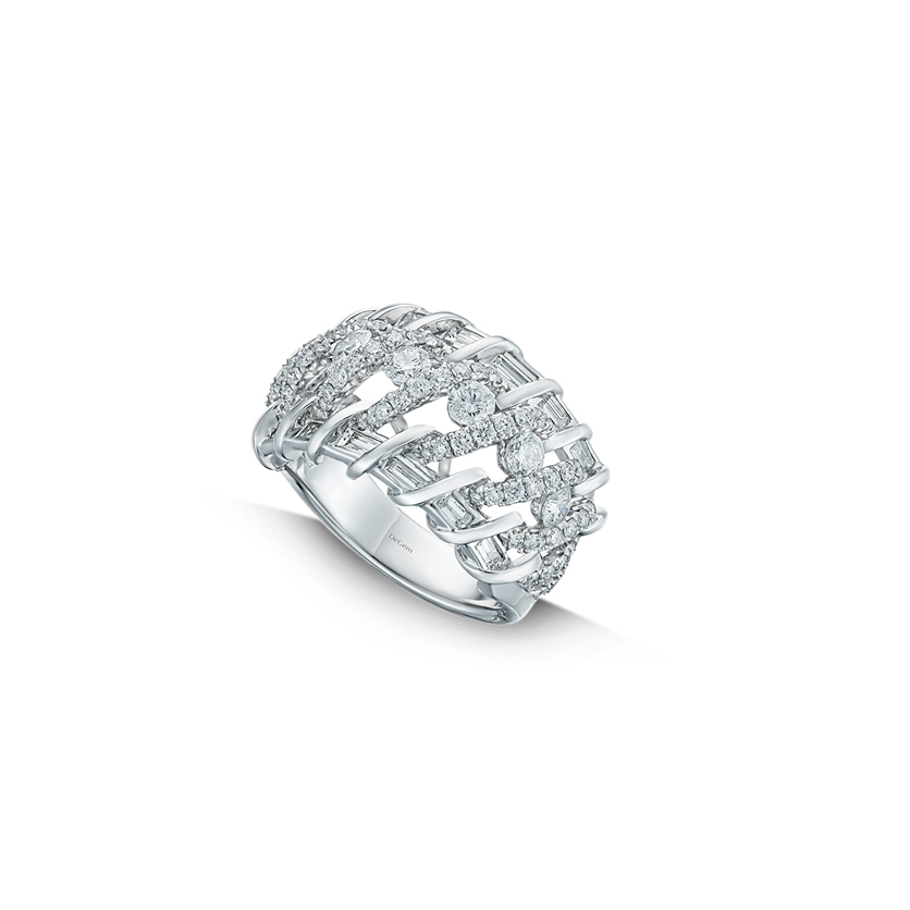 DeGem DNA Collection Diamond Ring
