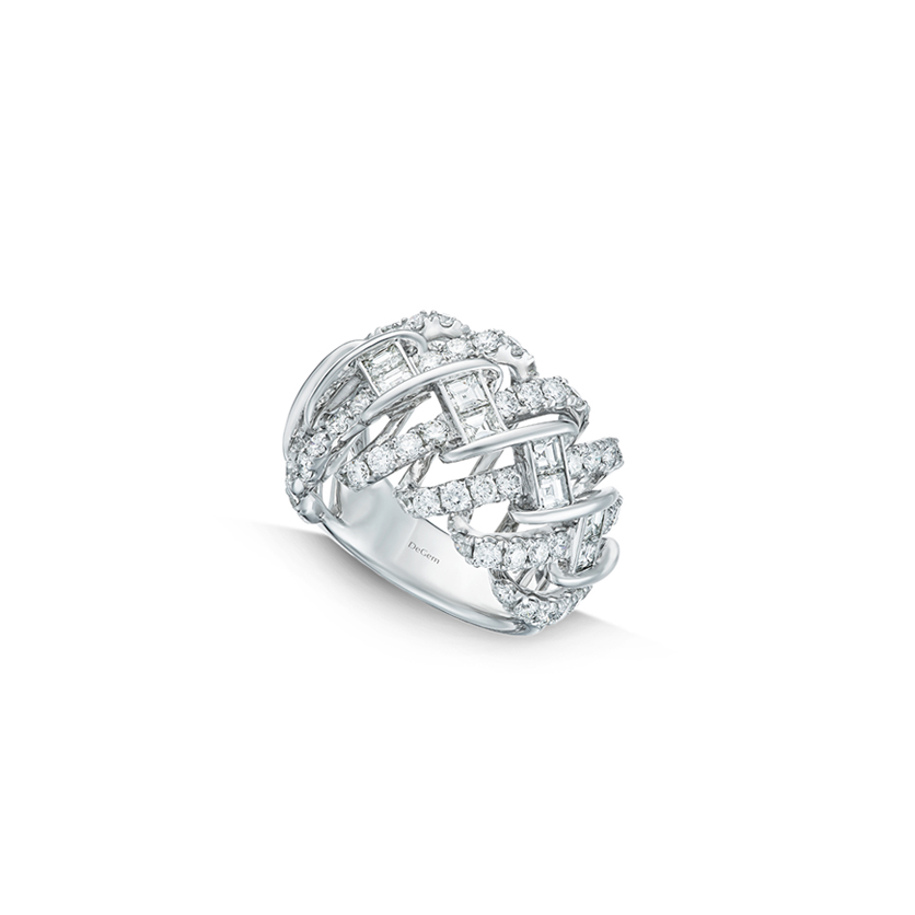 DeGem DNA Diamond Ring