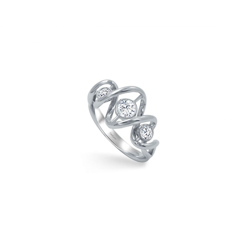 DeGem DNA™ Diamond Ring