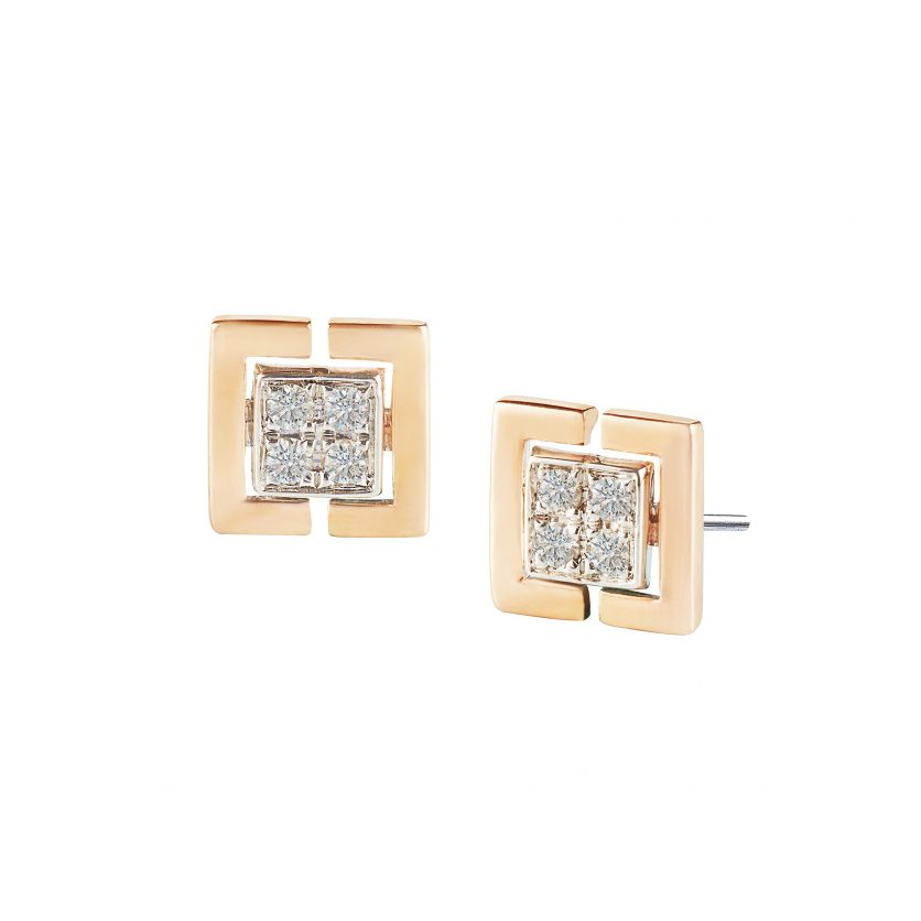 Soleluna ASTRA Unity Diamond Earrings