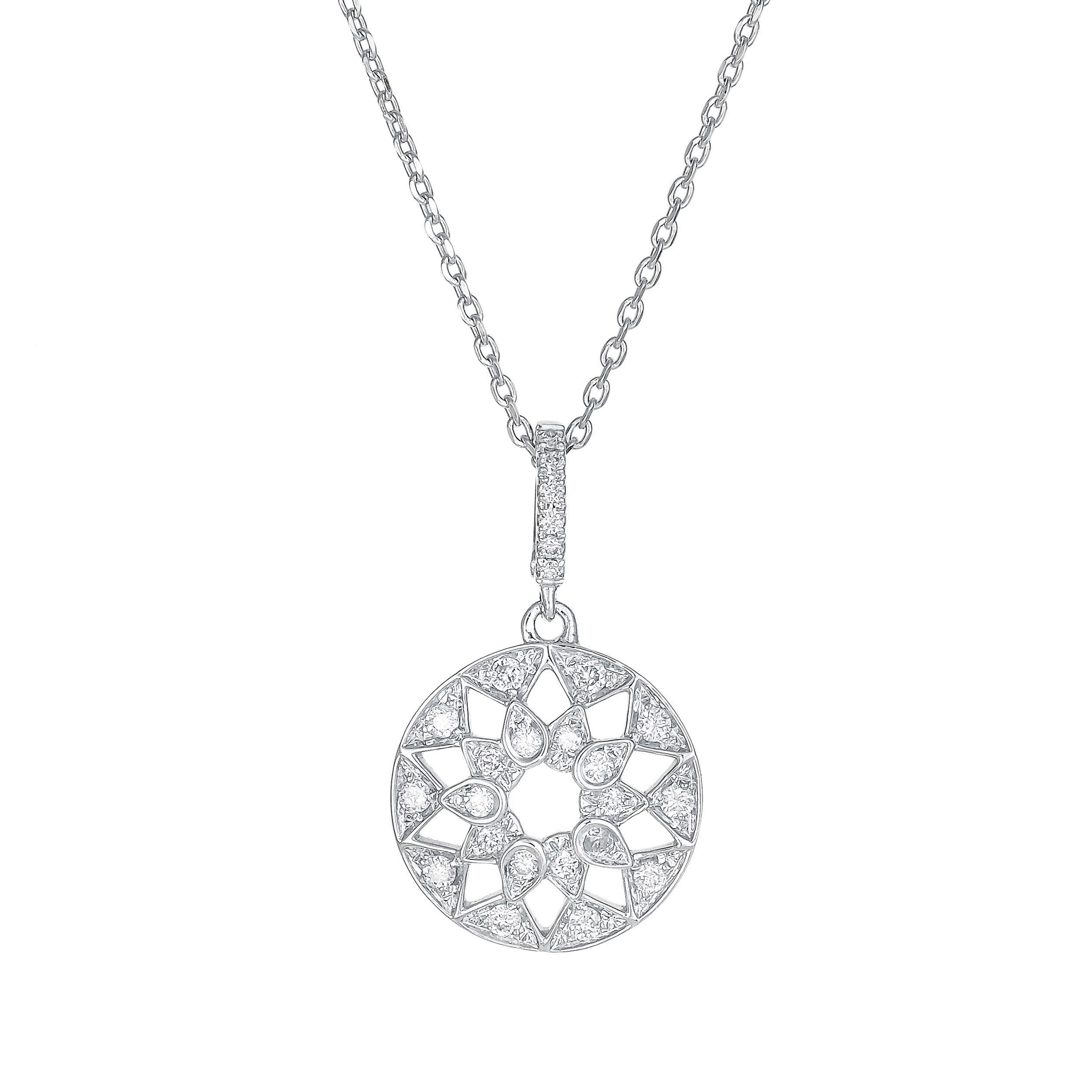 eliise maar gold products cheap luna necklace diamond