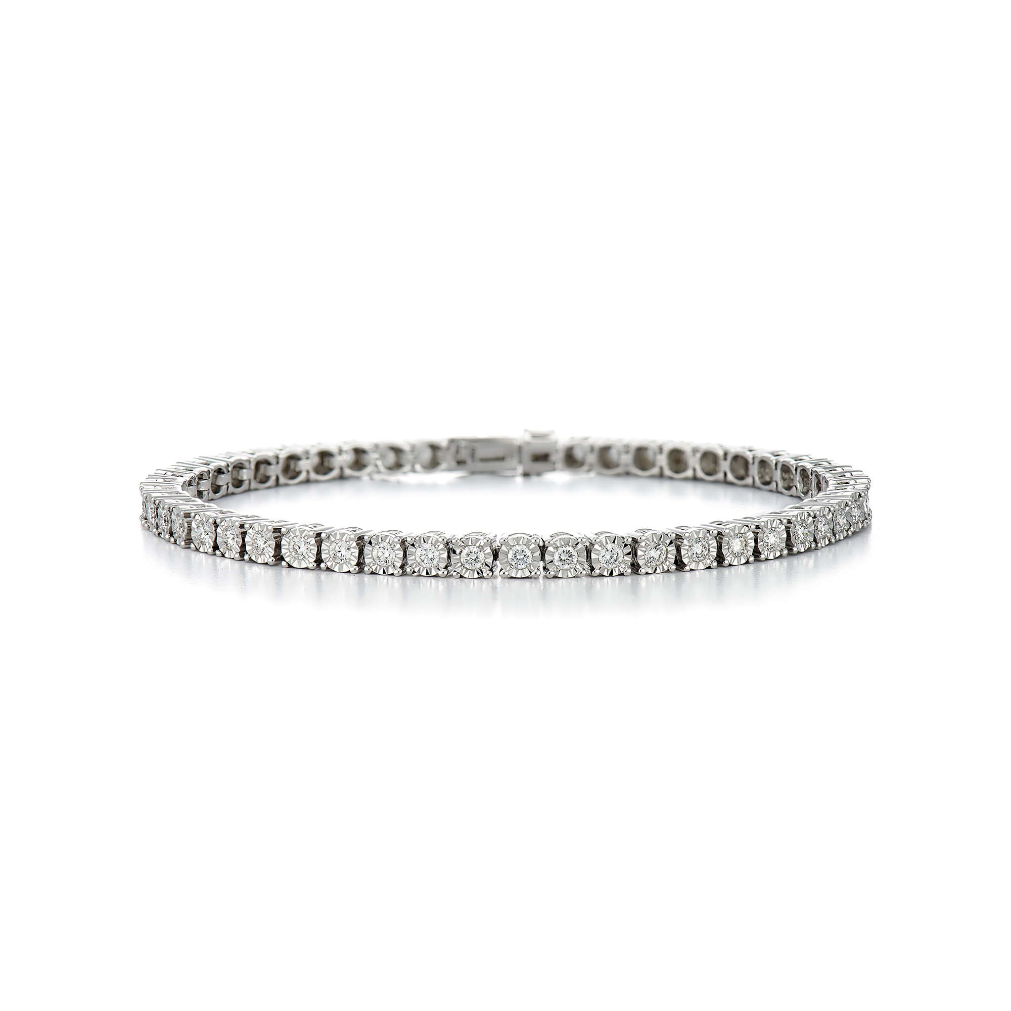 yg pave rg diamond polished bezel band set catalog rgyg bracelet
