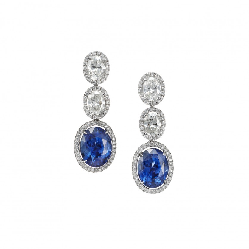 Gorgeous Sapphire Earring