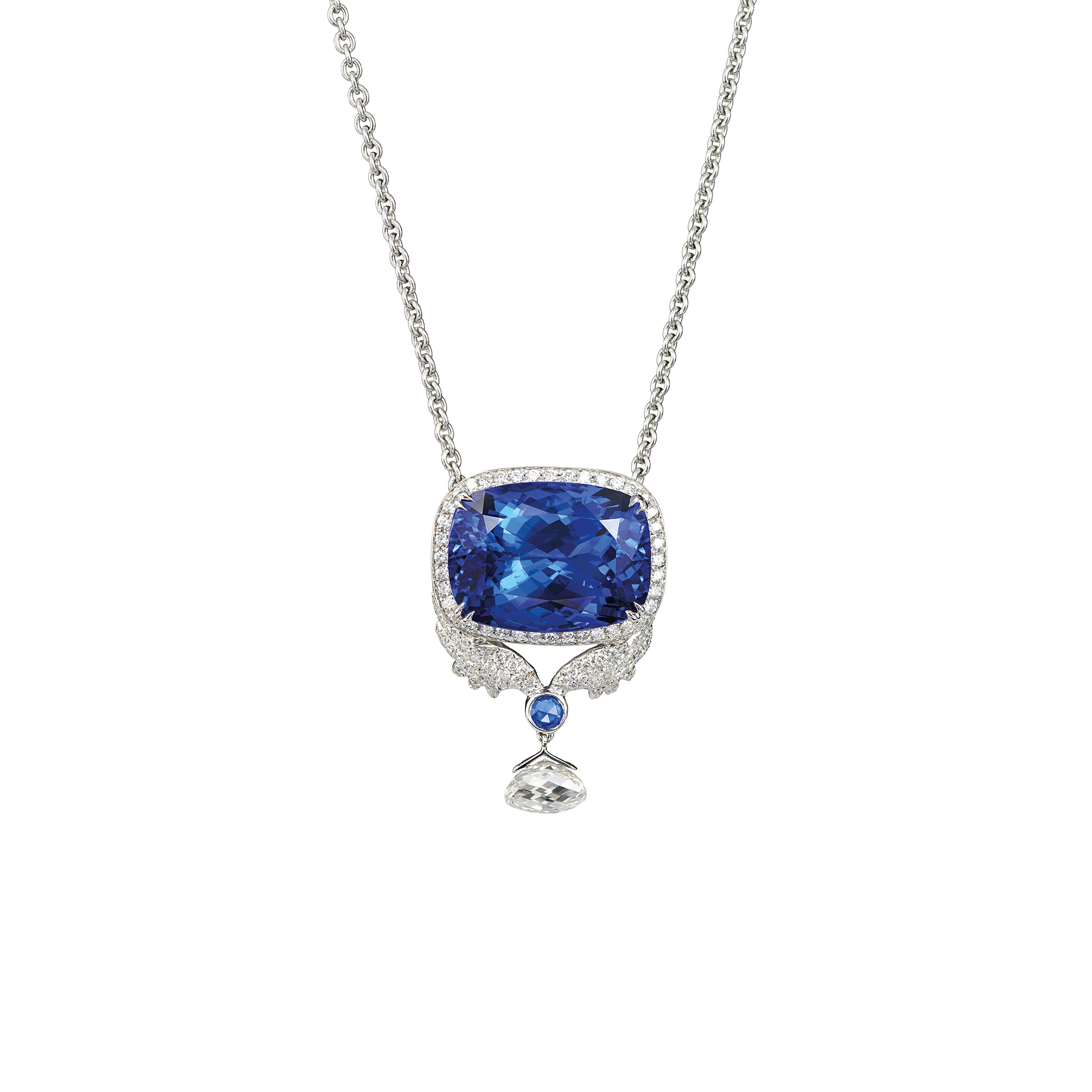 Tantalizing Tanzanites Necklace