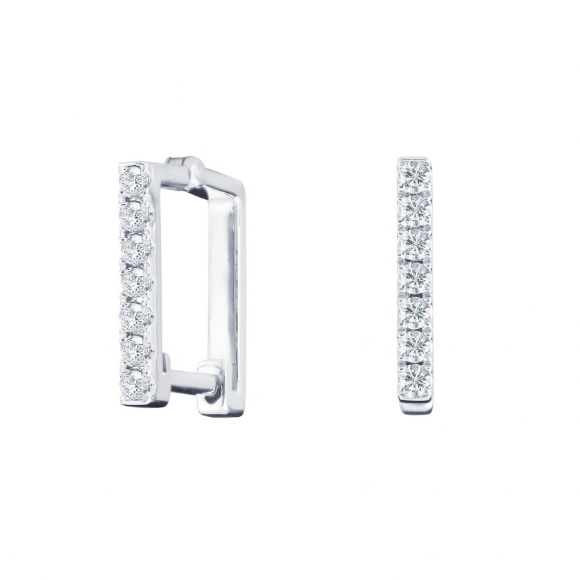 Soleluna ASTRA Linear Diamond Earrings