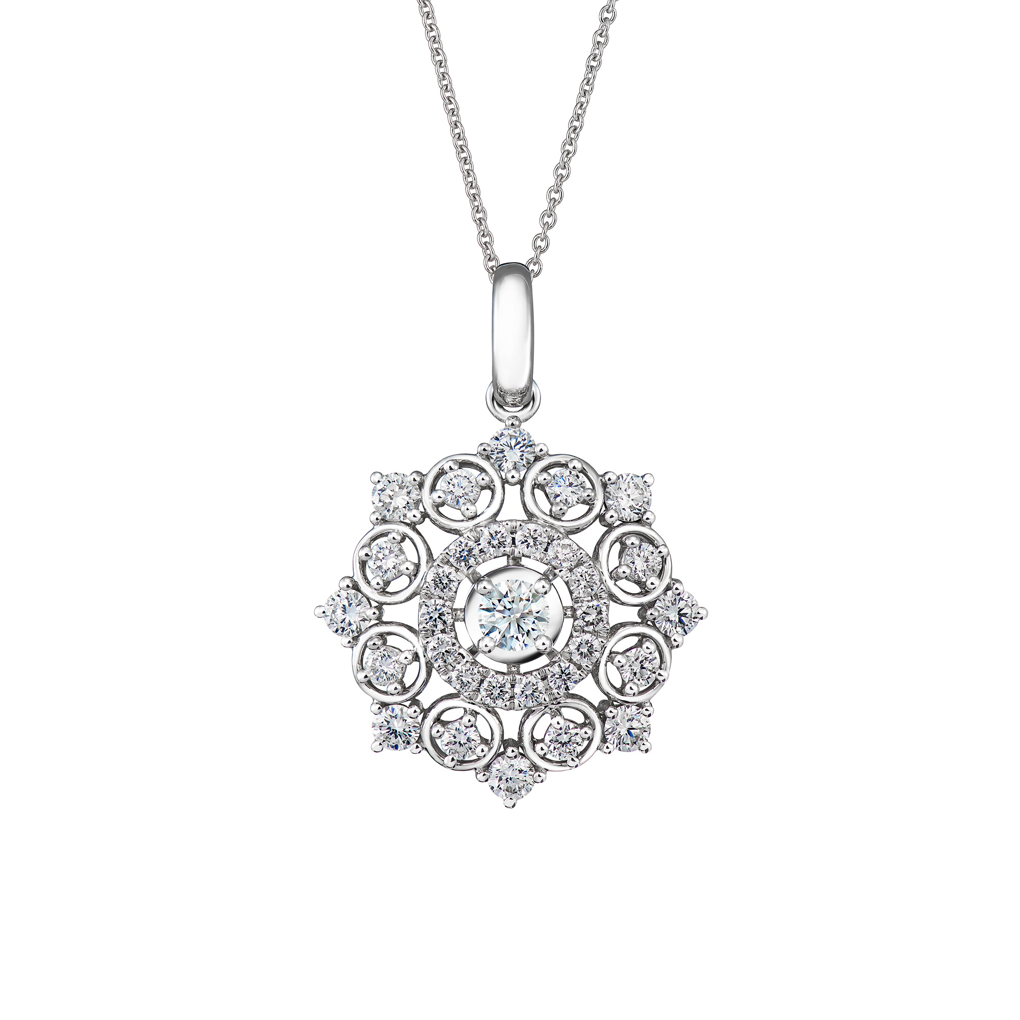 DeGem Azalea Diamond Necklace SSDG07819