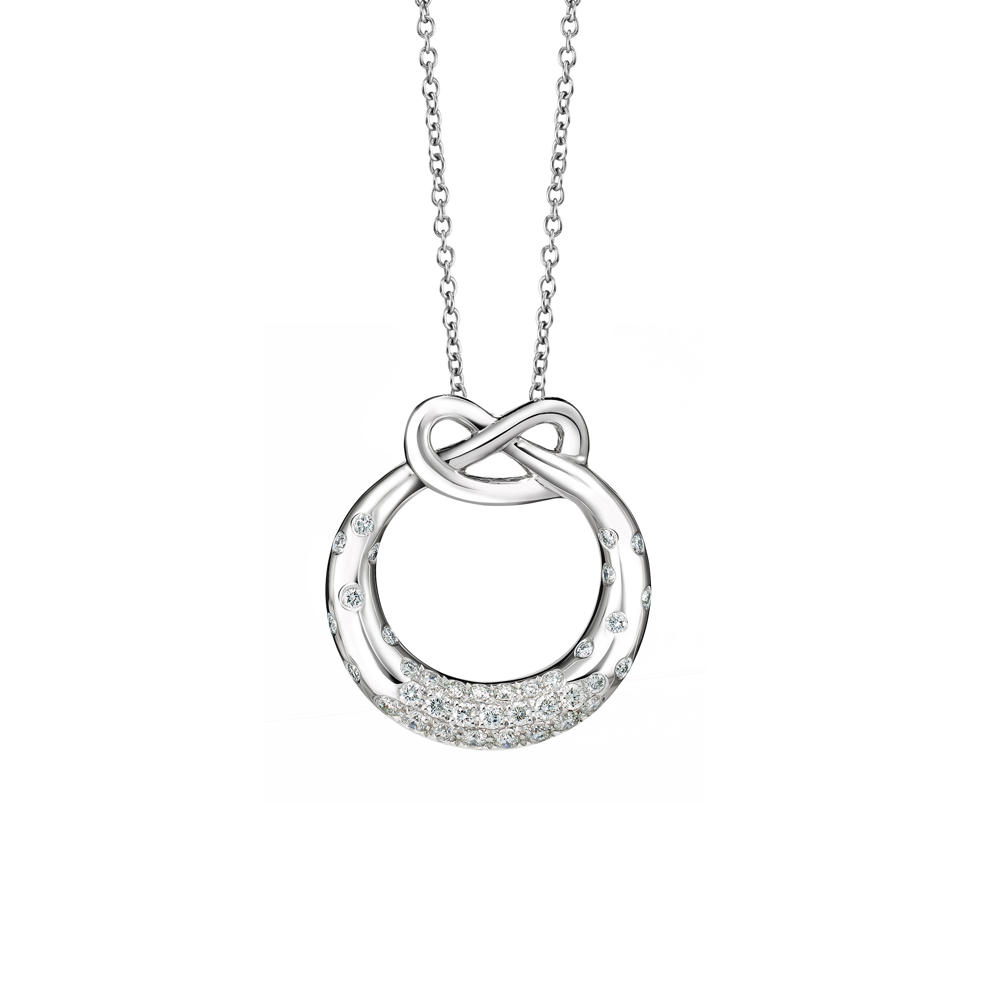 DeGem Eternal Love Diamond Necklace SSDG100806