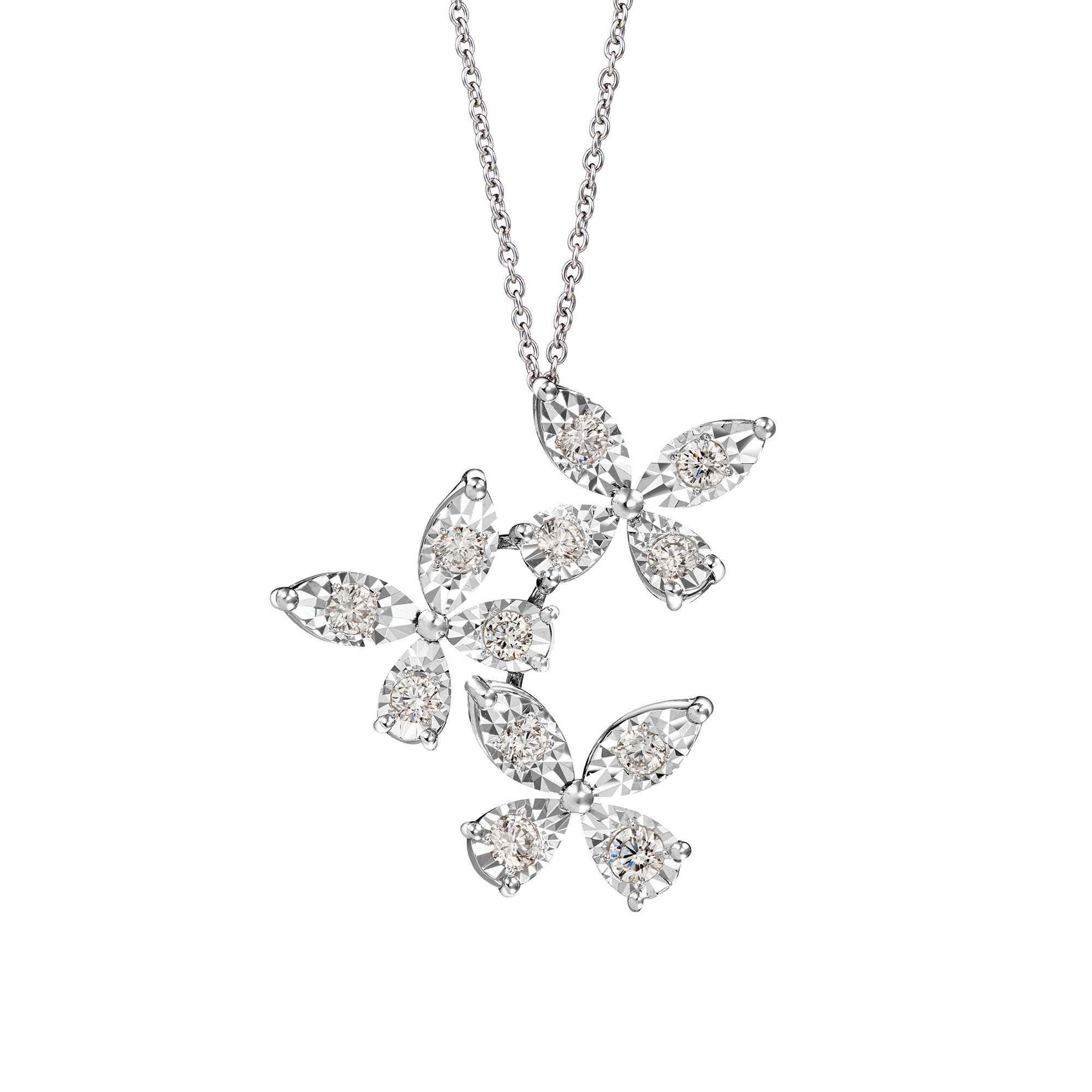 DeGem Flutter Diamond Necklace GP5078