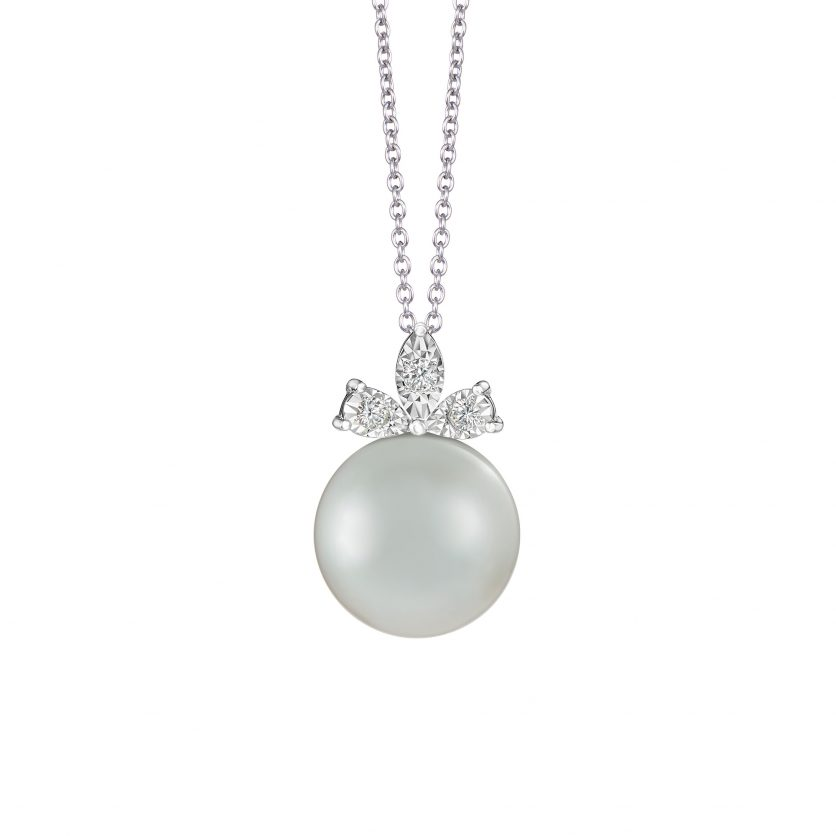 South Sea Pearl Diamond Pendant