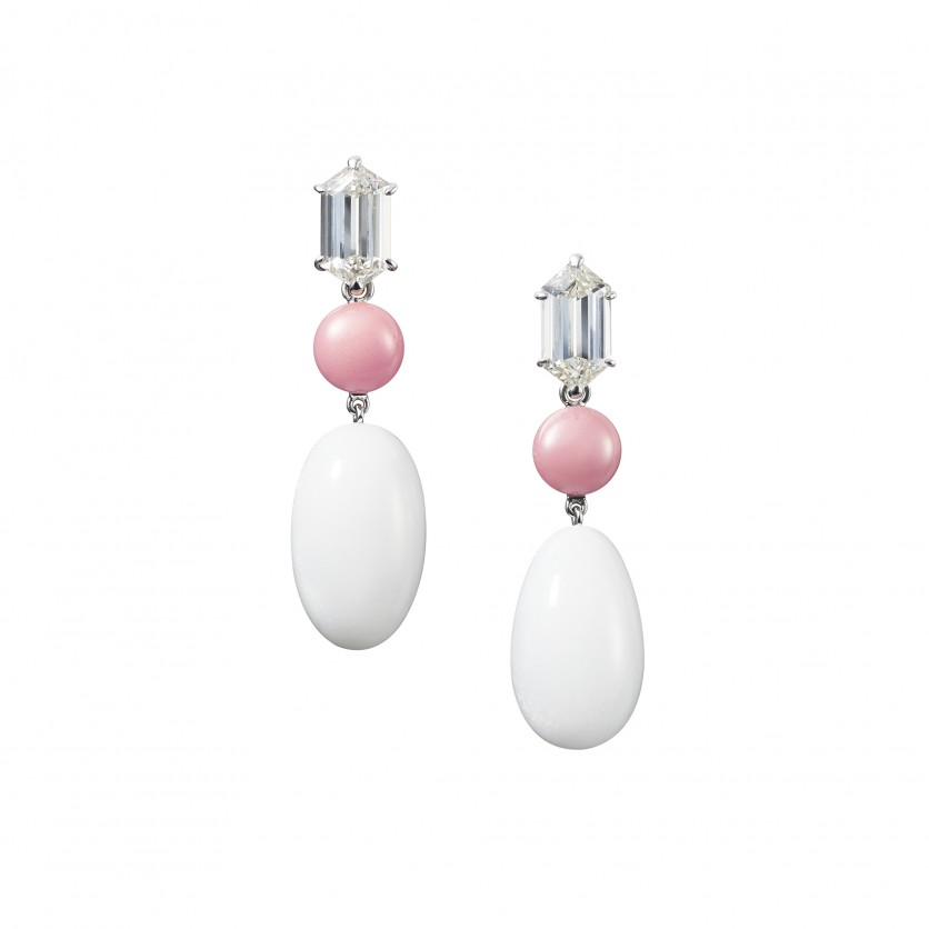 Clam & Conch Pearl Earrings