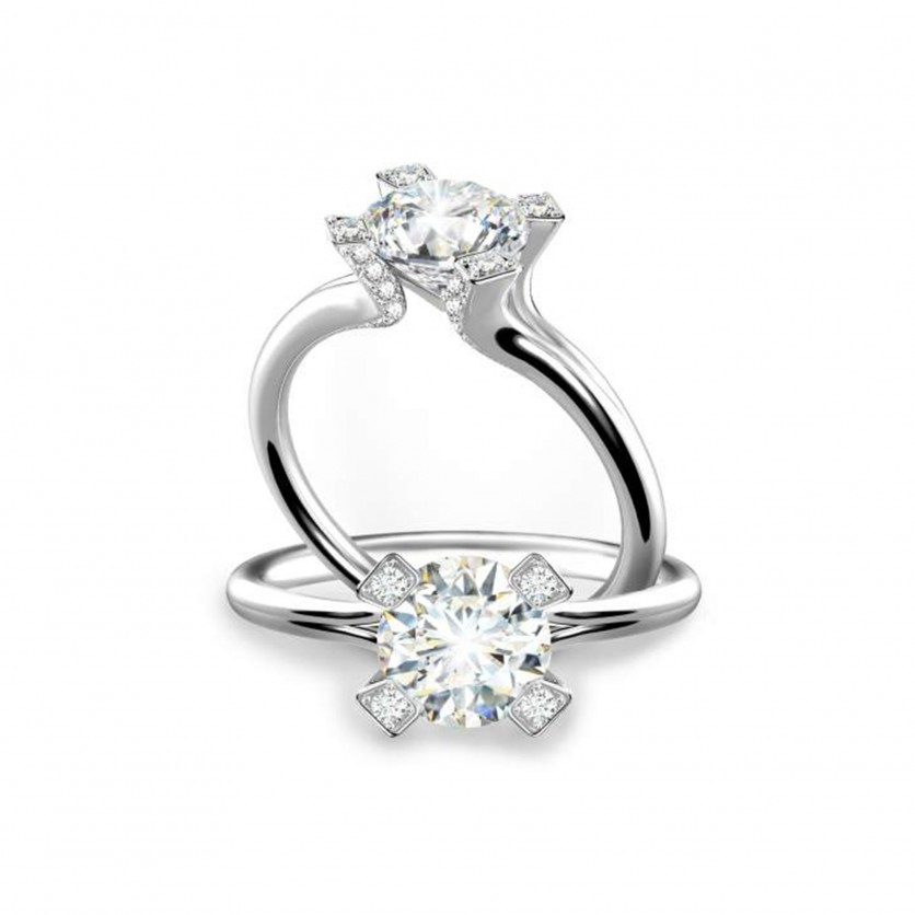 Forevermark Cornerstones Solitaire Ring