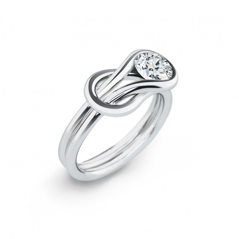 Forevermark Encordia Solitaire Diamond Ring