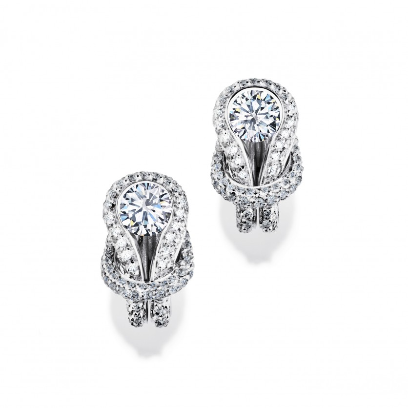 Forevermark Encordia Solitaire Diamond Earrings